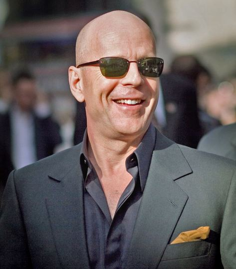 Bruce Willis at a Live Free or Die Hard premiere in June 2007