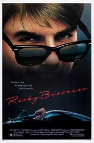 Film poster for Risky Business